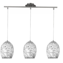 3 Light Kitchen Island Pendant Touchless Faucets Searchlight Crackle