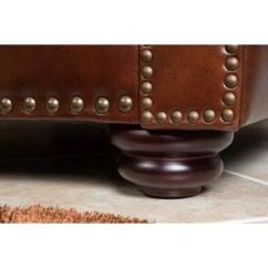 Abbyson Leather Sofa Reviews Ebay Arm Covers Living Karington Loveseat And Wayfair