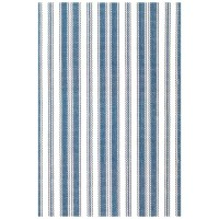 Dash and Albert Rugs Hand Woven Blue/White Indoor/Outdoor ...