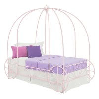 DHP Twin Canopy Bed & Reviews | Wayfair