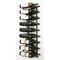 VintageView Wall Series 18 Bottle Wall Mounted Wine Rack ...