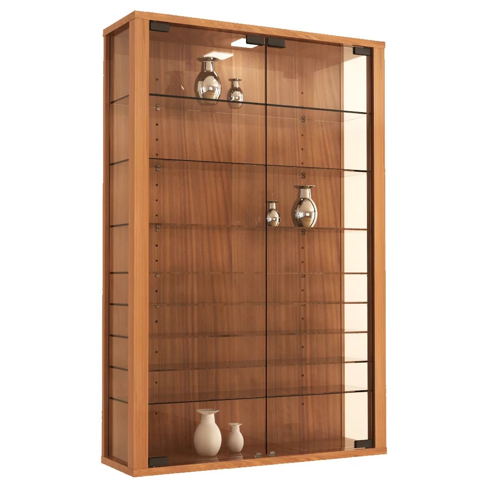 VCM Vitrosa Mini Wall Mounted Curio Cabinet  Reviews