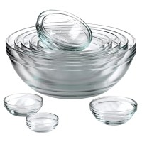 Anchor Hocking 10 Piece Mixing Bowl Set & Reviews