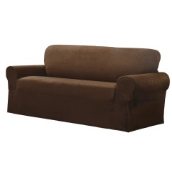 Wayfair Sofa Covers Sectional Bed Crate And Barrel Maytex Conrad Stretch Box Cushion Slipcover Reviews