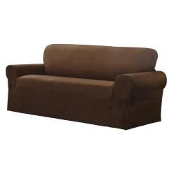 Sofa Box Cushion Covers Glider Moroso Maytex Conrad Stretch Slipcover And Reviews