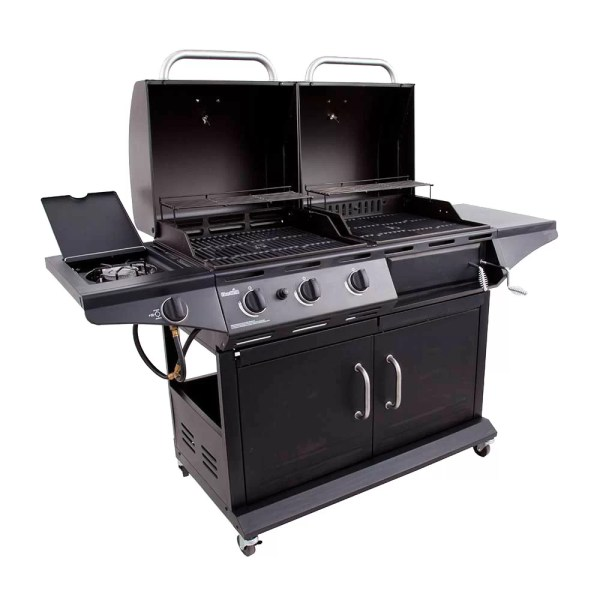 Propane and Charcoal Combo Grill
