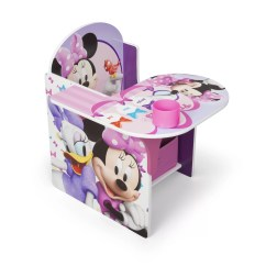 Video Game Chair With Cup Holder Bean Bag Stuffing Delta Children Minnie Kids Desk Storage
