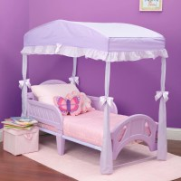 Delta Children Children's Girls Canopy for Toddler Bed ...