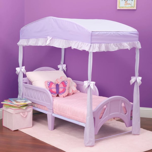 Delta Girls Toddler Canopy Bed