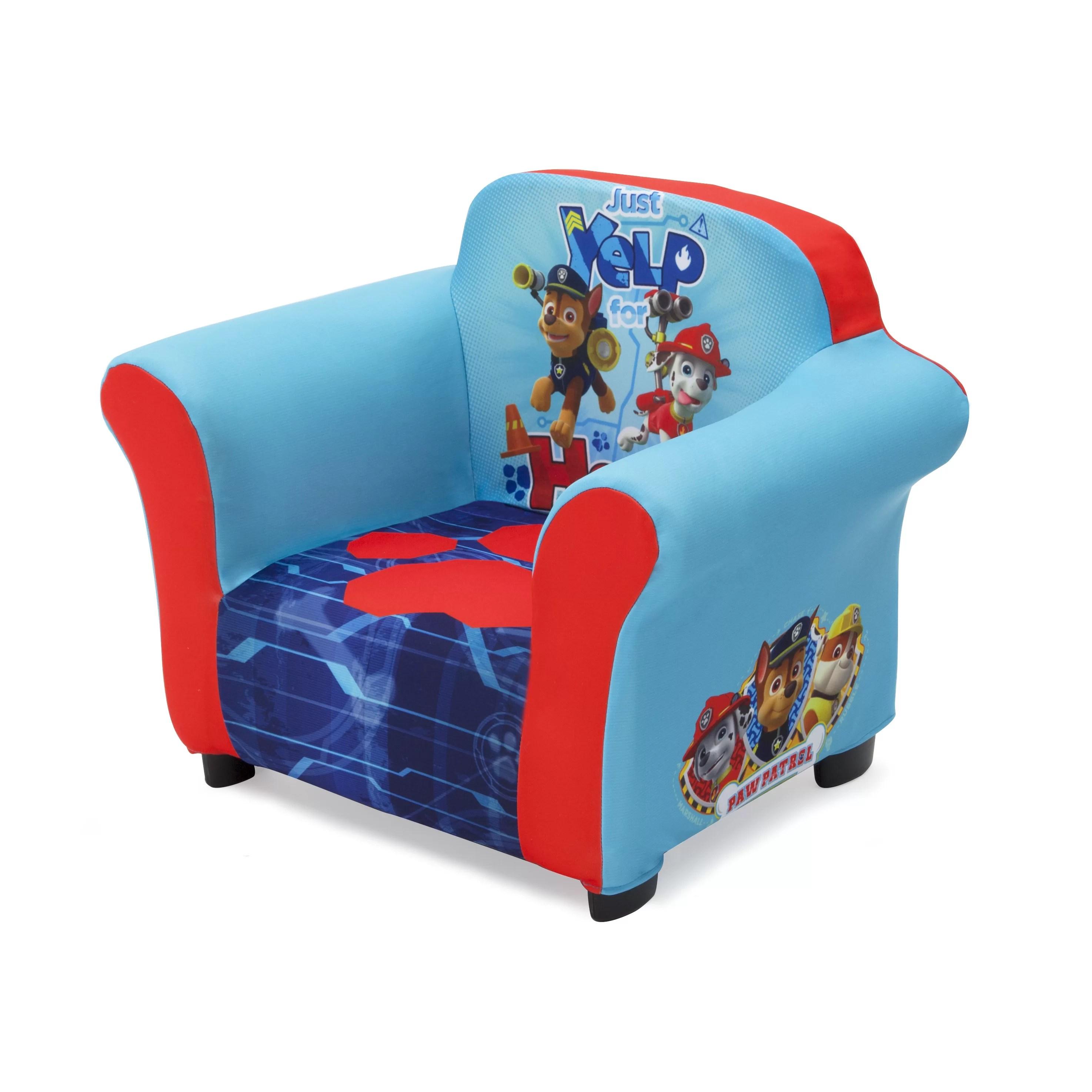 delta children chair dark teal velvet nick jr paw patrol kids club