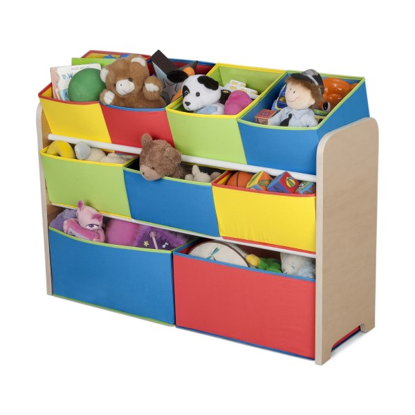 Delta Children Multi-color Deluxe Toy Organizer With Bins &