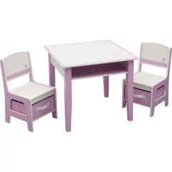 3 Piece Table And Chair Set Round Seat Cushions For Wicker Chairs Delta Children Jack Jill Kids
