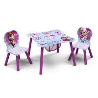 Delta Children Disney Frozen Kids 3 Piece Table and Chair ...