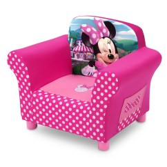 Minnie Mouse Recliner Chair Black Parsons Slipcovers Delta Children Disney 39 Armchair And Reviews