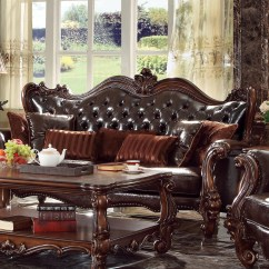 Sofa Futon Beds Wade Colorado Leather Acme Furniture Versailles Living Room Collection | Wayfair