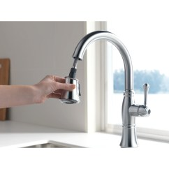 Delta Cassidy Kitchen Faucet Small Table With Storage Single Handle Standard