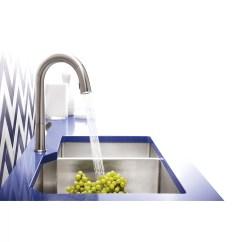 Extra Large Kitchen Sinks Double Bowl Decorative Glass Jars For Kohler Strive 35 1 2 Quot X 20 4 9 5 16 Under Mount