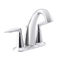 Kohler Kitchen Sink Faucets Best Wood Stain For Cabinets Alteo Centerset Bathroom Faucet And Reviews