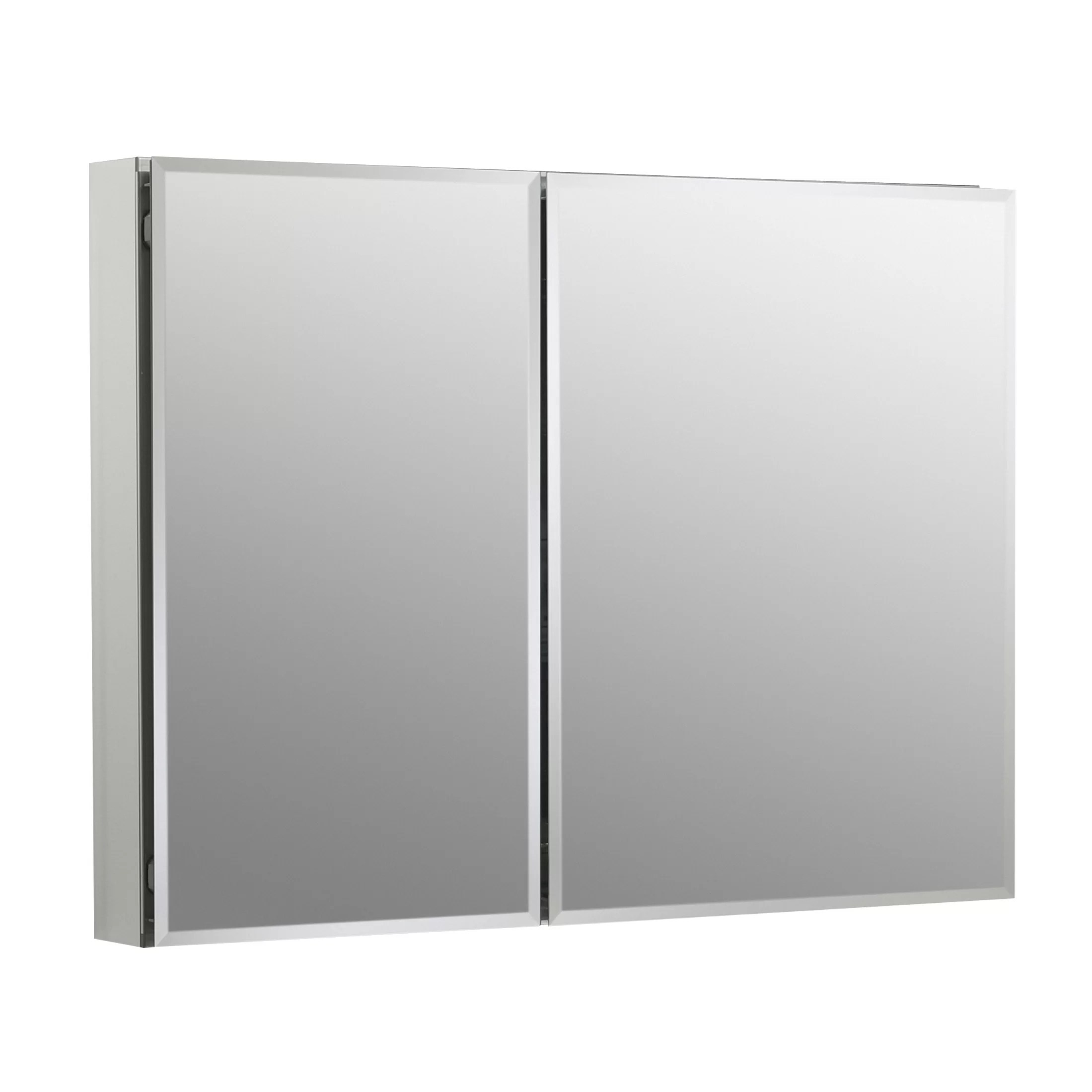 """Kohler 35"""" W x 26"""" H Aluminum Two"""