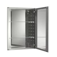 """Kohler 20"""" x 26"""" Aluminum Mirrored Medicine Cabinet ..."""
