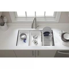 Kohler Kitchen Sink Accessories Maple Table Prolific 33 Quot X 17 3 4 11 Undermount Single Bowl