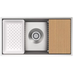 Kohler Kitchen Sink Accessories Awesome Cabinets Prolific 33 Quot X 17 3 4 11 Undermount Single Bowl