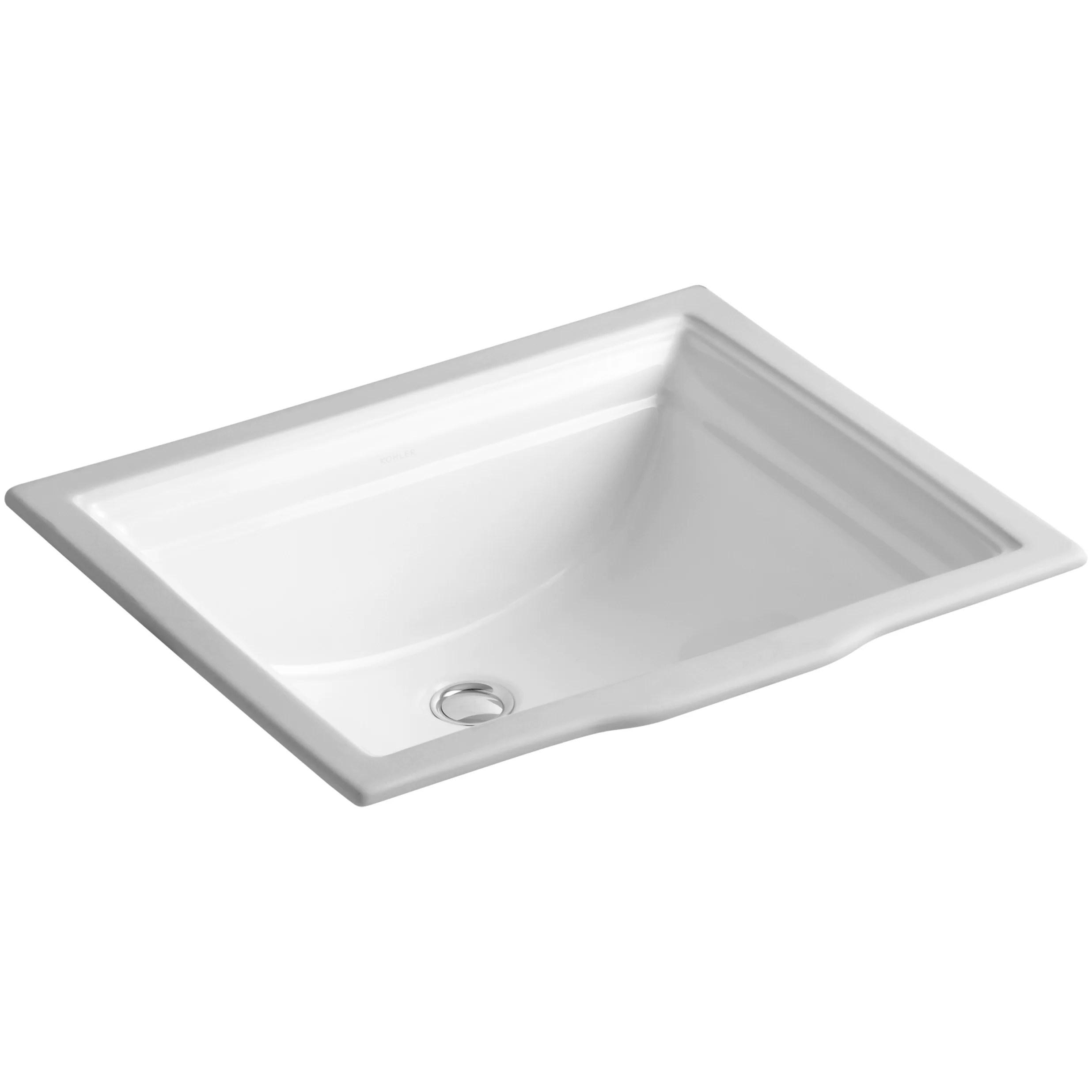 Kohler Memoirs Undermount Bathroom Sink & Reviews