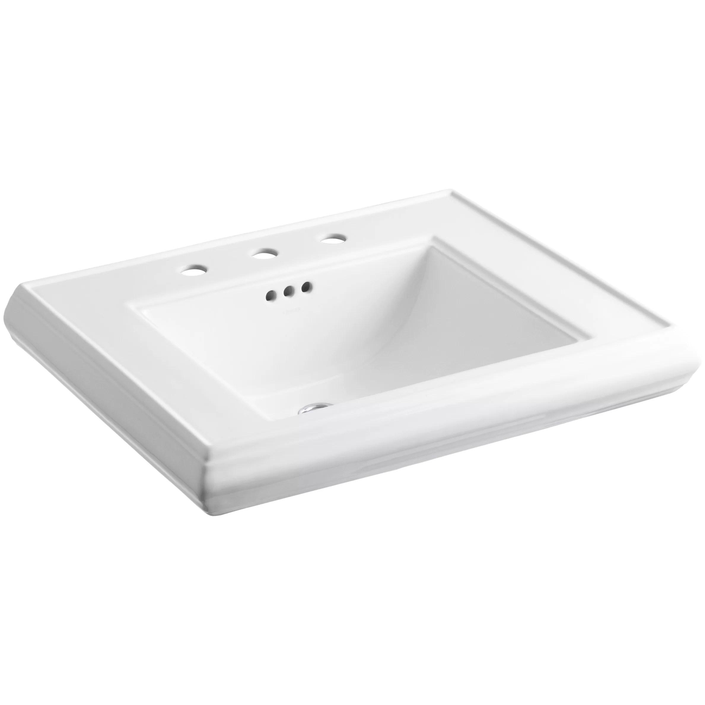 Kohler Memoirs Pedestal Bathroom Sink Basin & Reviews