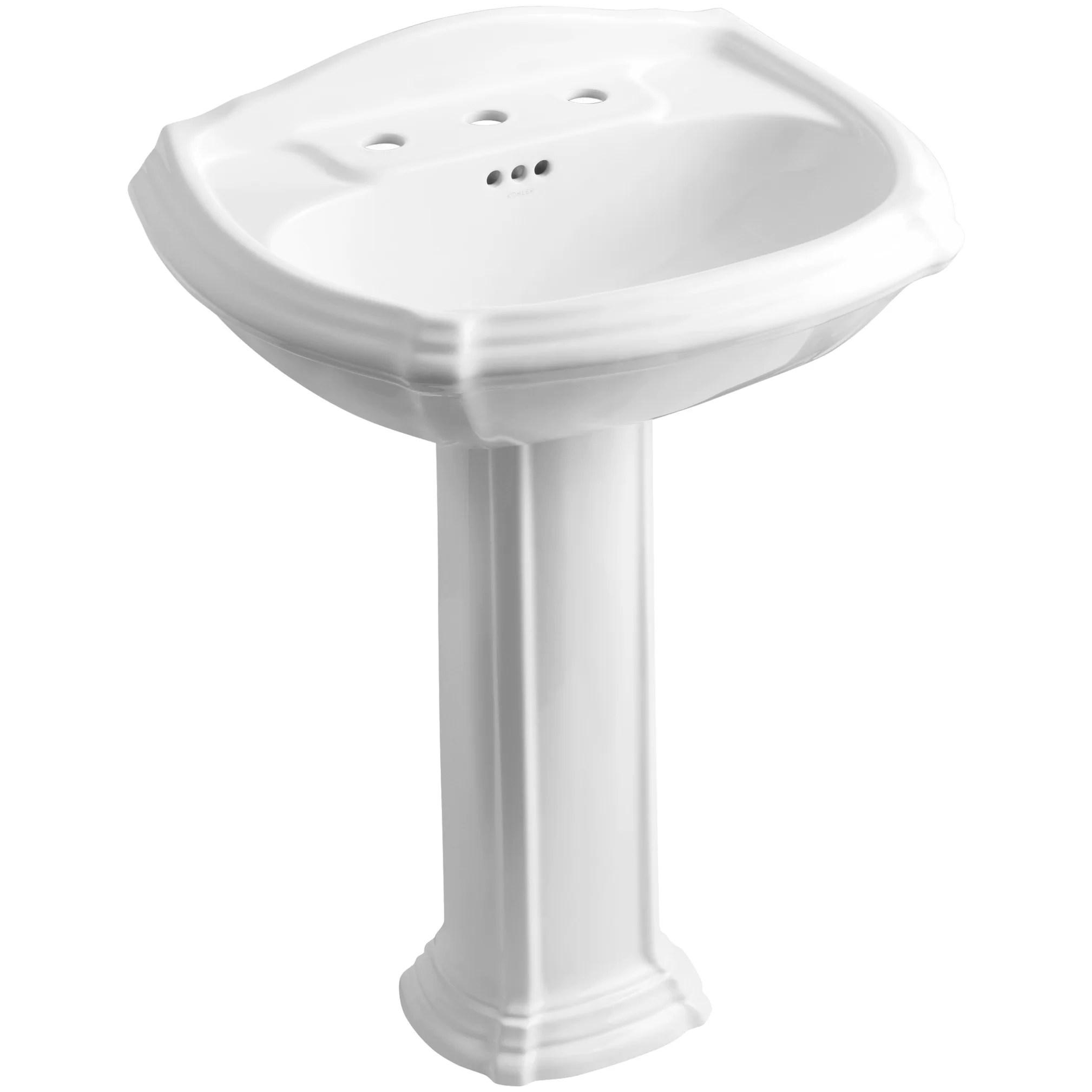 Kohler Portrait Pedestal Bathroom Sink & Reviews
