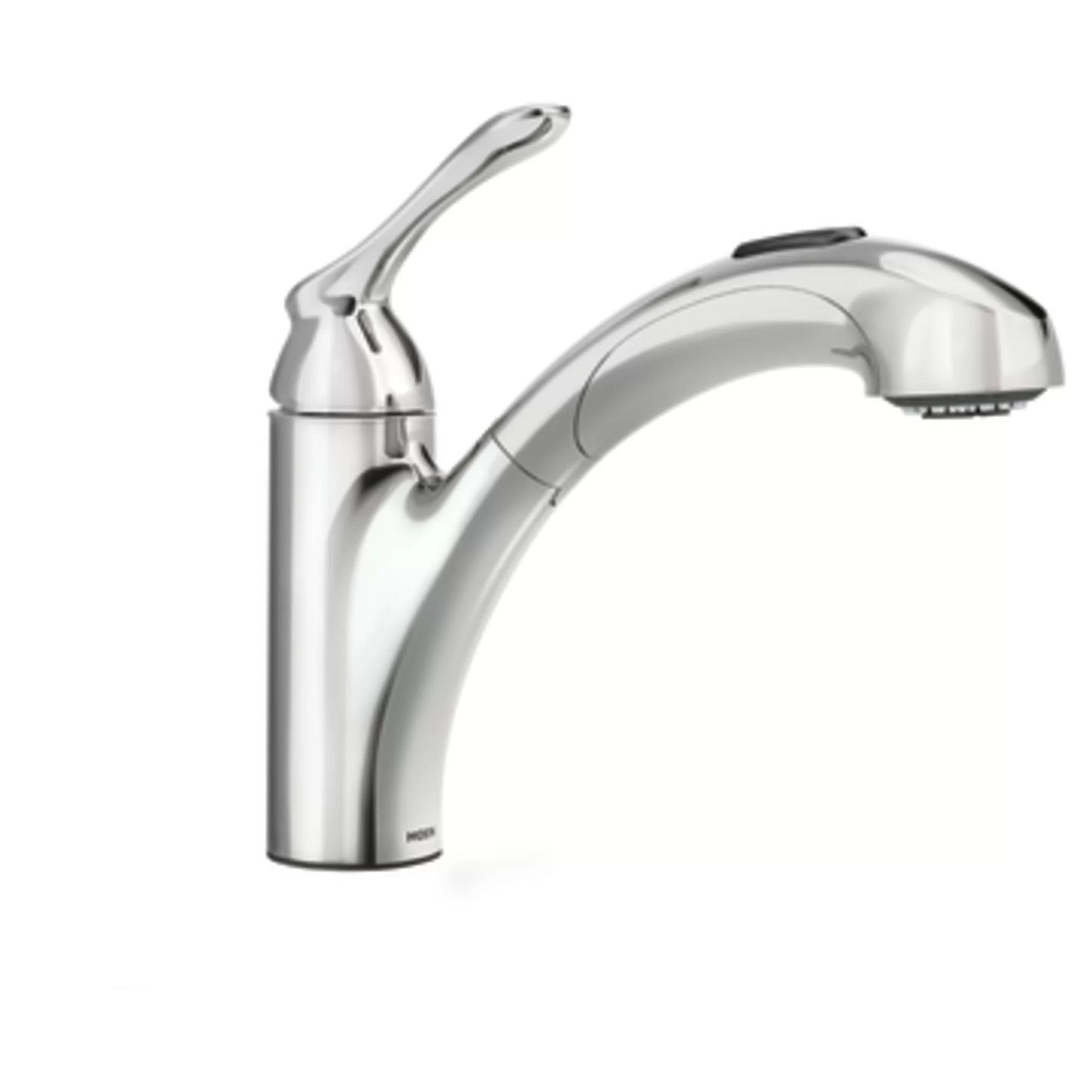 moen kitchen faucet reviews laminate cabinets banbury single handle deck mounted