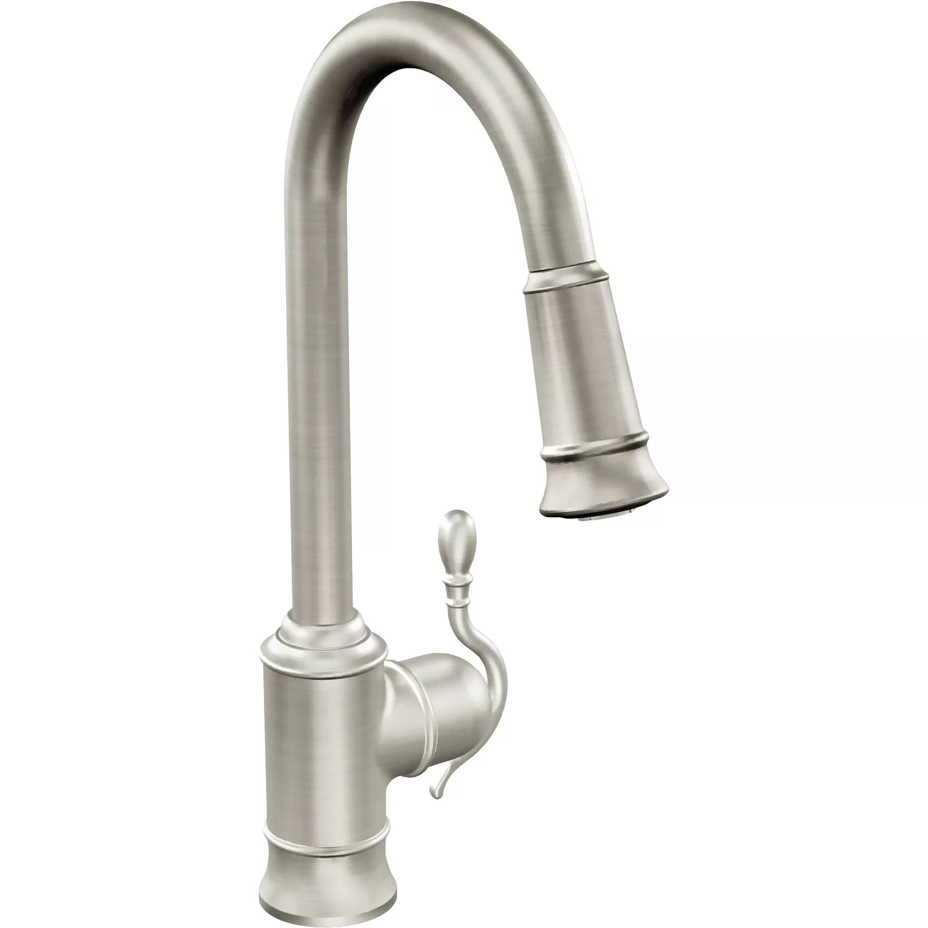 moen hands free kitchen faucet tiles for woodmere single handle hole