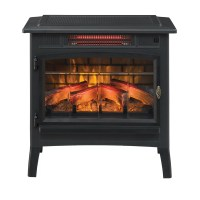 Duraflame Infrared Quartz Electric Fireplace & Reviews ...