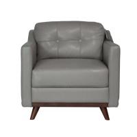 Moroni Monika Full Top Grain Leather Chair | Wayfair