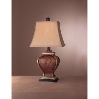 "Minka Ambience Casual 28"" Table Lamp & Reviews | Wayfair"