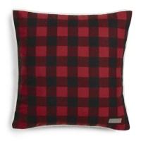 Eddie Bauer Cabin Plaid Flannel Cotton Throw Pillow ...