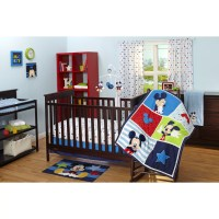 Disney Baby Mickey Mouse 3 Piece Crib Bedding Set ...
