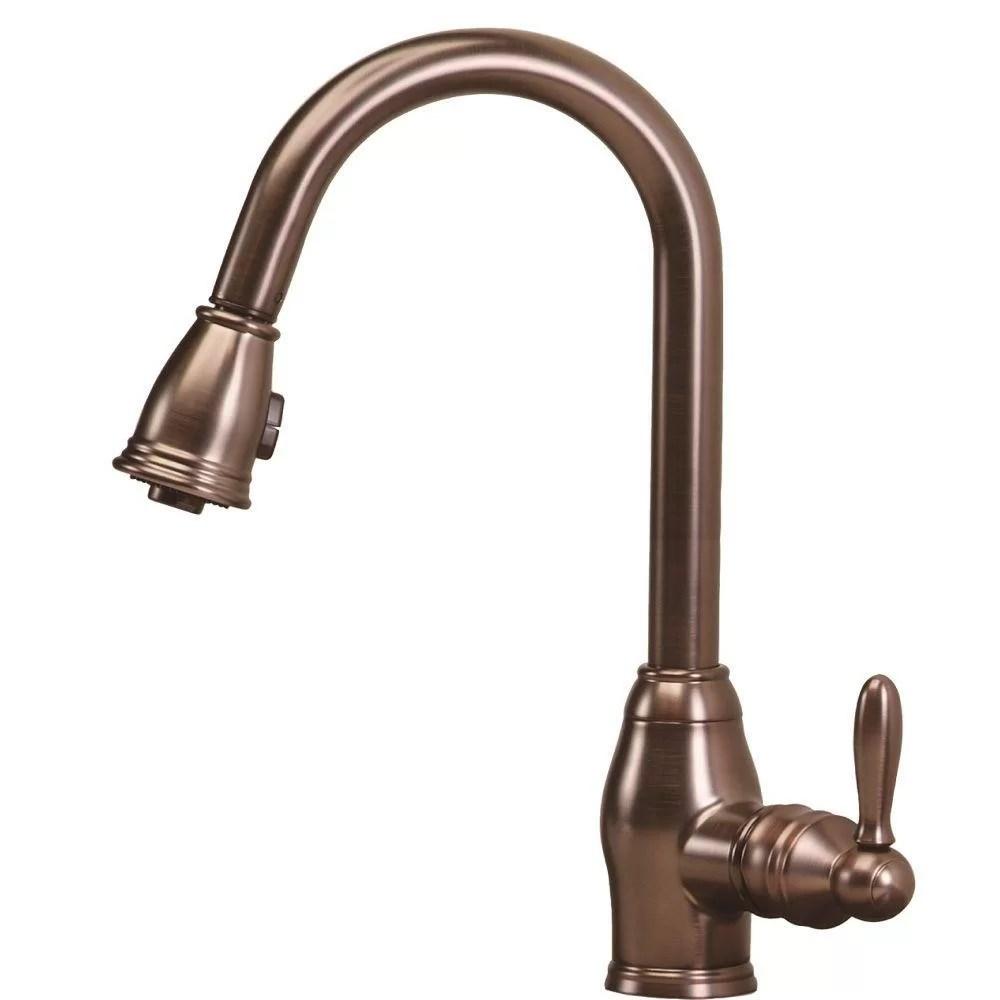 Hole Faucets Kitchen Single Parts