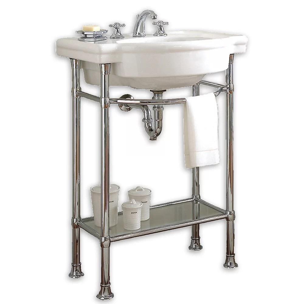 American Standard Retrospect Console Table with Bathroom