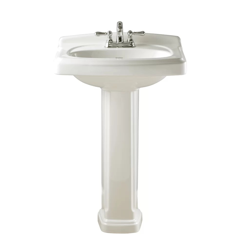 American Standard Portsmouth Pedestal Bathroom Sink Set  Reviews  Wayfair