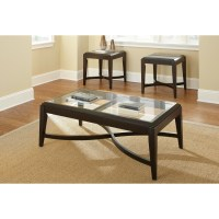 Steve Silver Furniture Mayfield 3 Piece Coffee Table Set ...