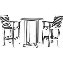 Patio Table And Chair Set Cover Ikea Red Desk Classic Accessories Veranda Bistro