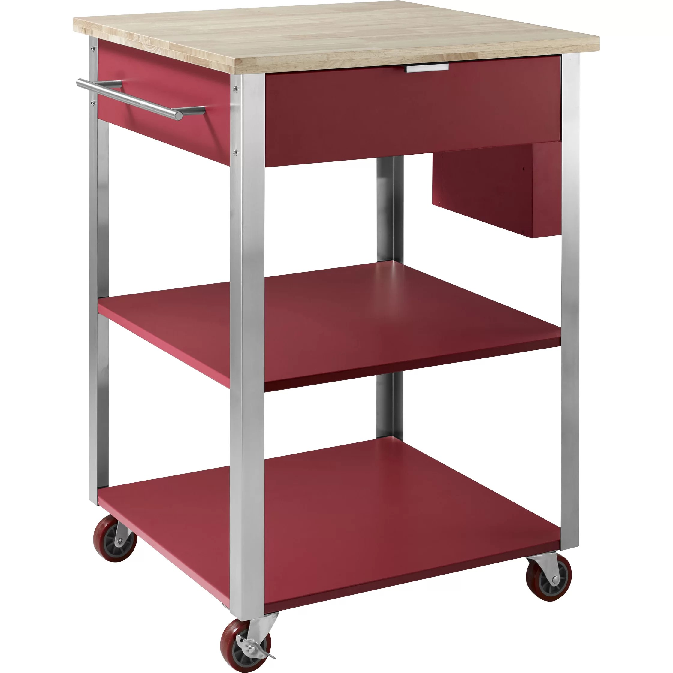 Crosley Kitchen Cart with Butcher Block Top  Reviews