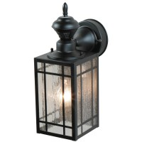 Heath-Zenith 1 Light Outdoor Wall Lantern & Reviews | Wayfair