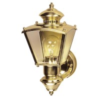 Heath-Zenith Charleston Coach 1 Light Outdoor Sconce ...