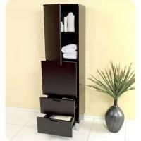 "Fresca Bathroom 15.75"" x 58"" Linen Cabinet & Reviews | Wayfair"
