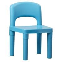 Tot Tutors Kids 5 Piece Plastic Table and Chair Set
