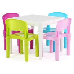 Kids Chair Set Modern Conference Chairs Tot Tutors 39 5 Piece Square Table And