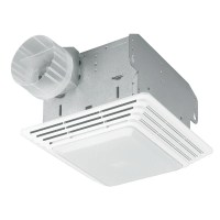 Broan 50 CFM Bathroom Exhaust Fan with Light & Reviews ...
