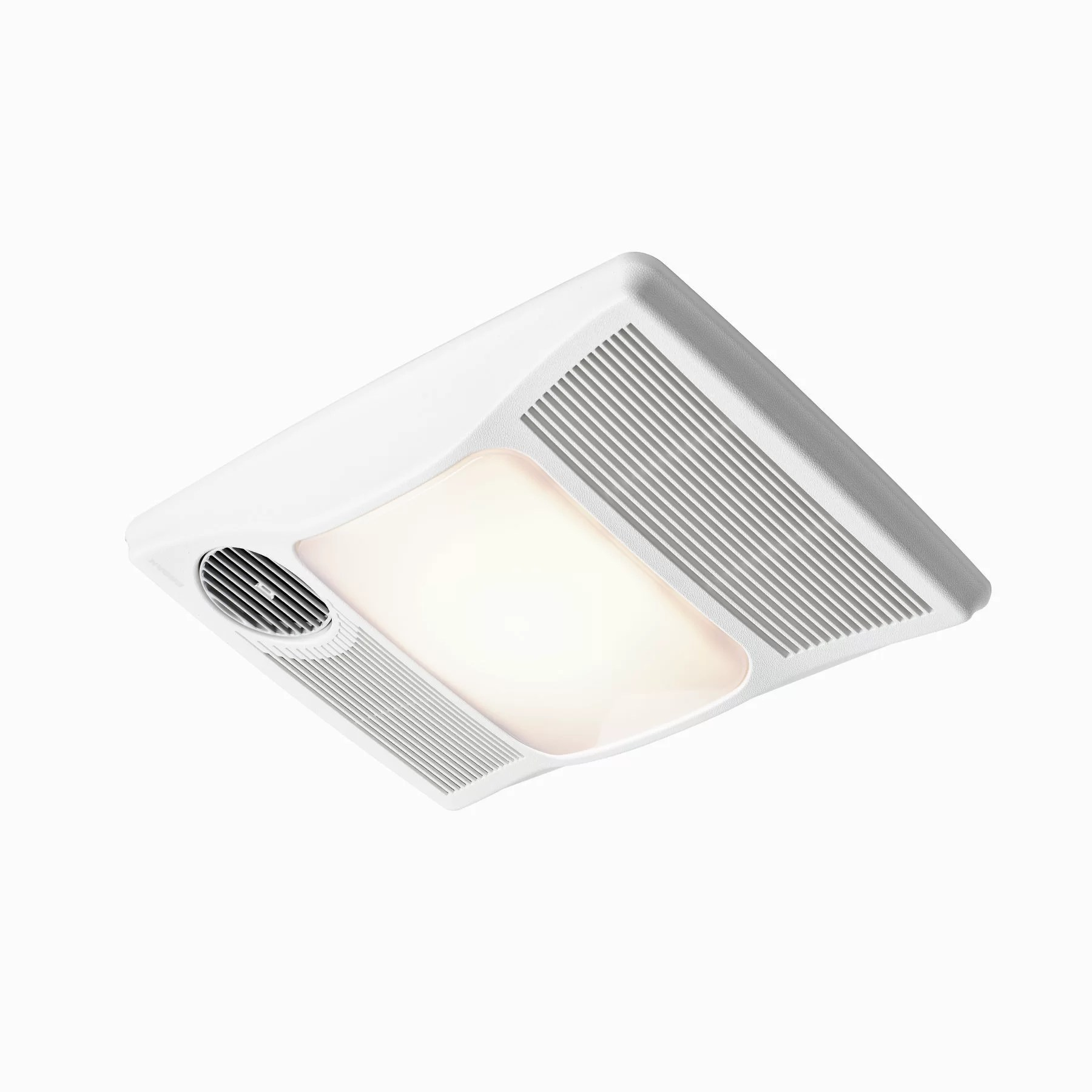 Broan 100 CFM Bathroom Fan with Heater and Light  Reviews  Wayfair