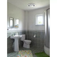 Broan 110 CFM Bathroom Fan with Heater and Light & Reviews ...